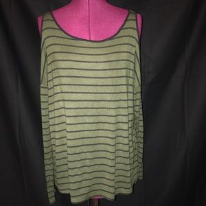 Tops - Long Sleeve open shoulder Forever 21